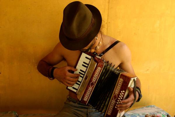 Gipsy accordion by dzoga