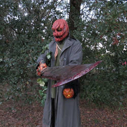 Pumpkin Creature 2 by Barbaric-D