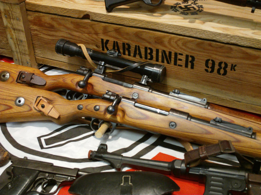 Kar98k Rifle With Scope 205138721 on Thats