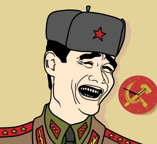 Comrade Bitch Please by DeSynchronizer