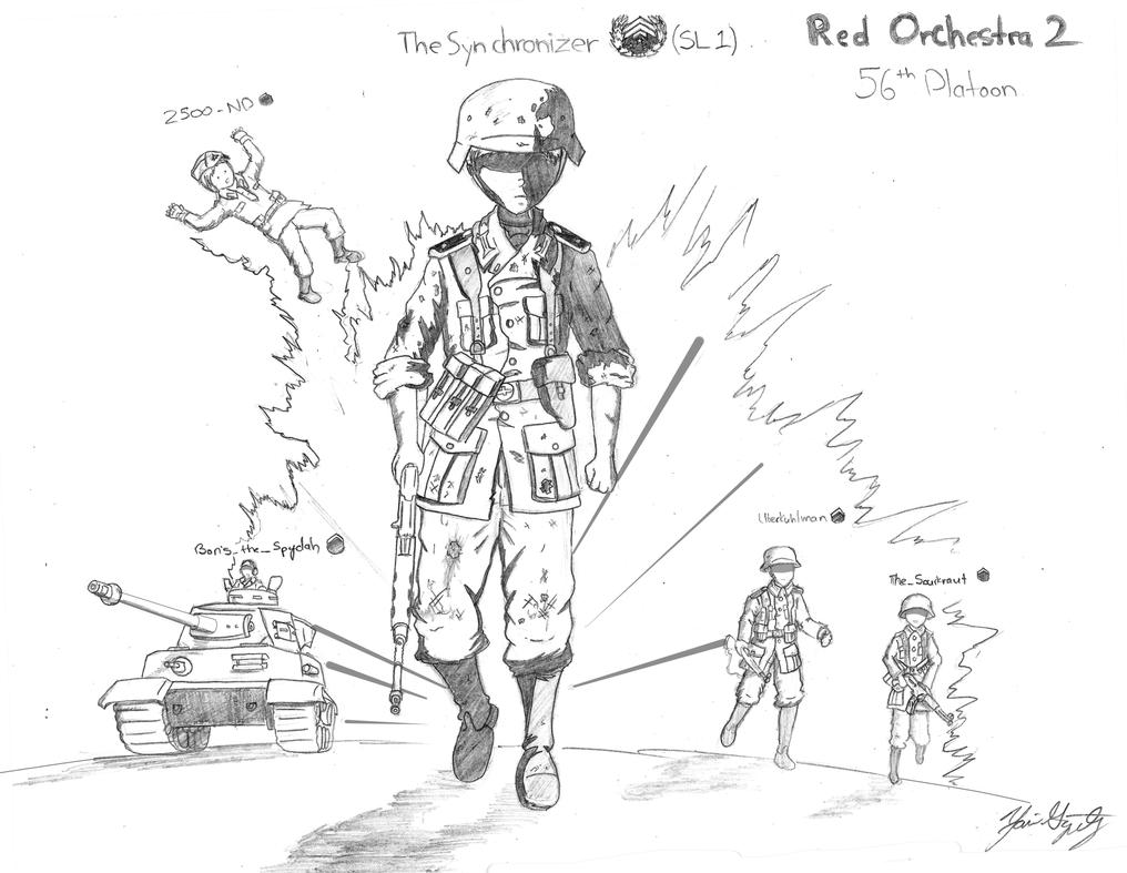 56th Platoon by DeSynchronizer