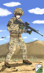 Operation Enduring Freedom by DeSynchronizer