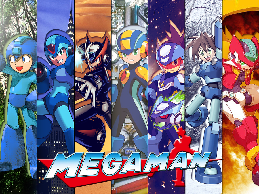 Megaman Wallpaper by EpixFailz