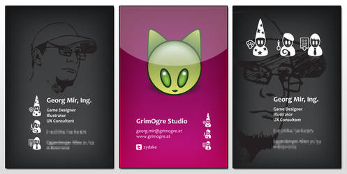 Business Card Design by cthathem