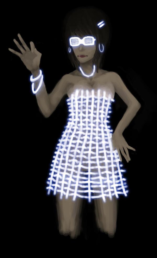 EL Wire Dress by TheAvantGarde on DeviantArt