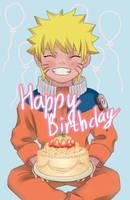 Naruto happy birthday by Evge-Niya