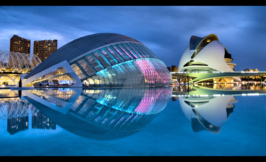Valencia, equalized by geometricphotos