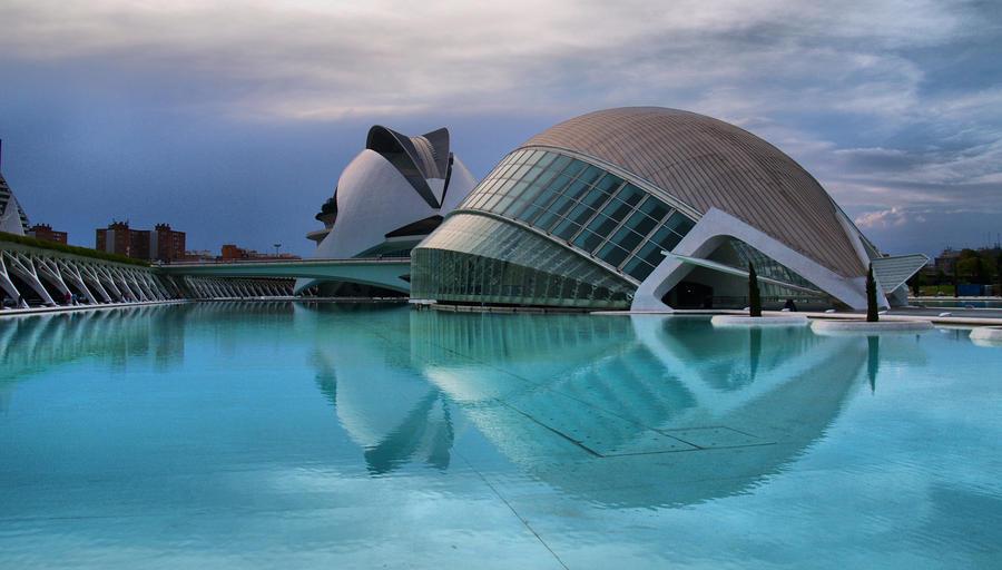 Valencia, Spain by geometricphotos