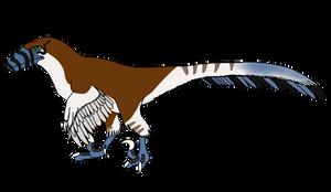 Swifteyes the deinonychus