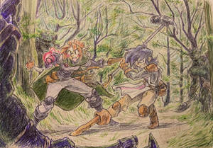 A ranger and a paladin walk into a forest...
