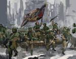 Charging of 8th Cadia Regiment