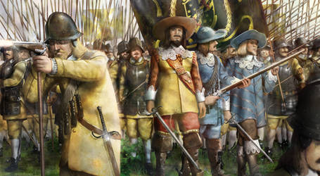 The Yellow Regiment of Gustavu