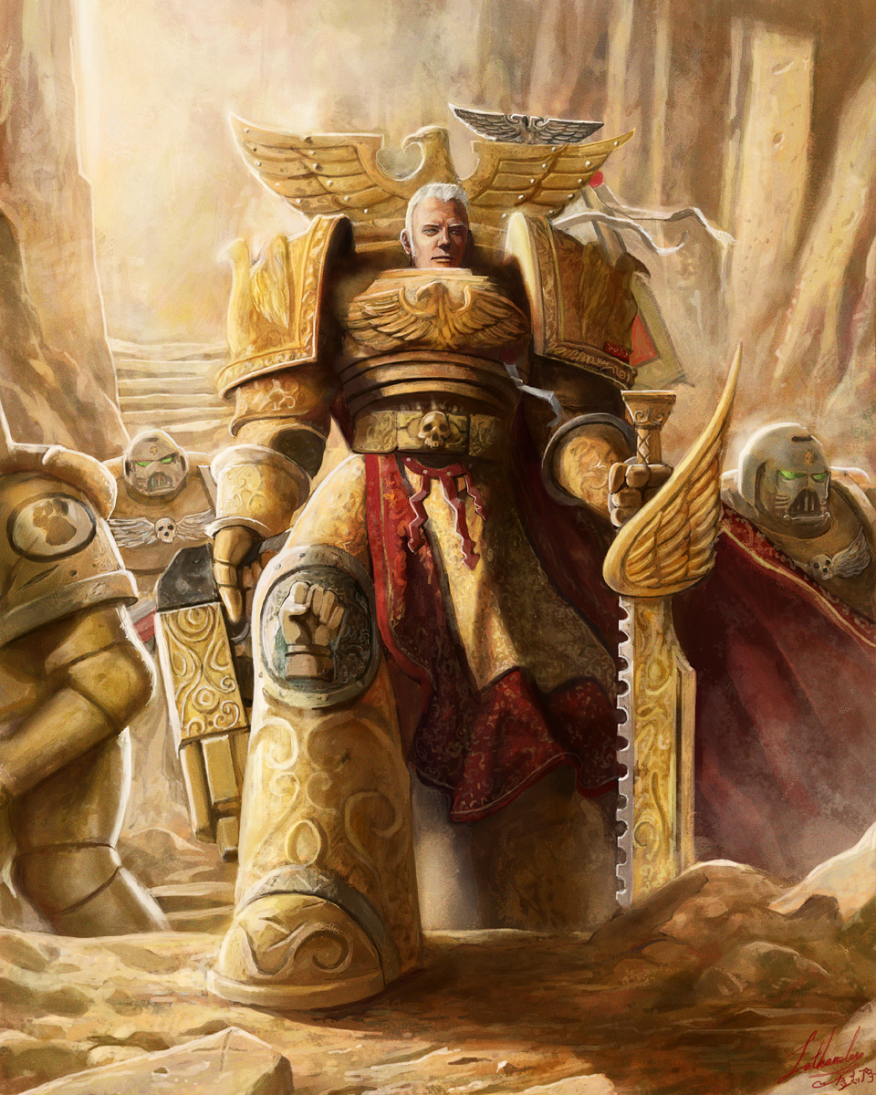 Rogal Dorn by lathander1987