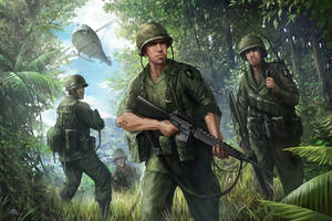 101st airborne in the jungle