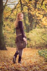 Autumn walk by KittiraCatinka