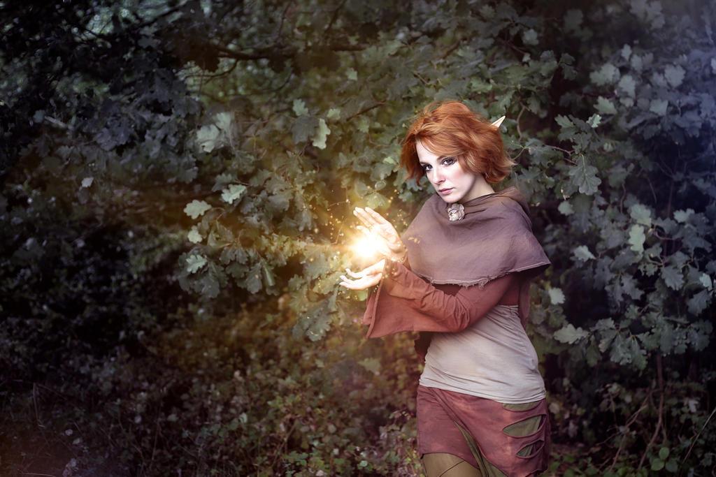 Elven Magic by KittiraCatinka