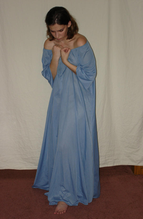 Blue Nightgown 8 by HiddenYume-stock