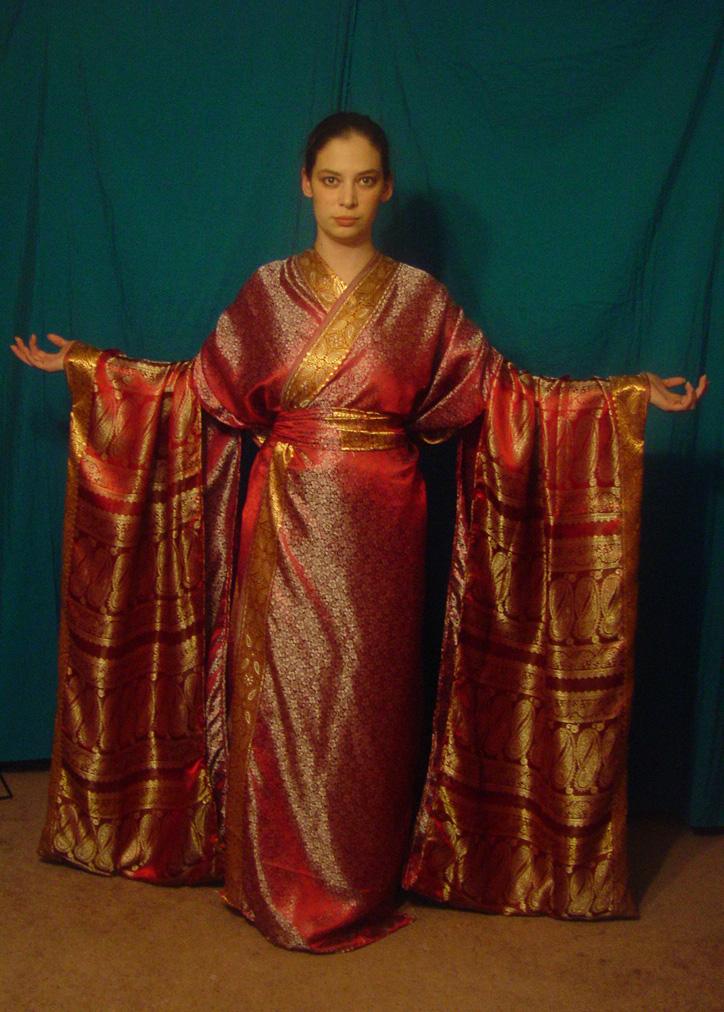 Phoenix Kimono 1 by HiddenYume-stock