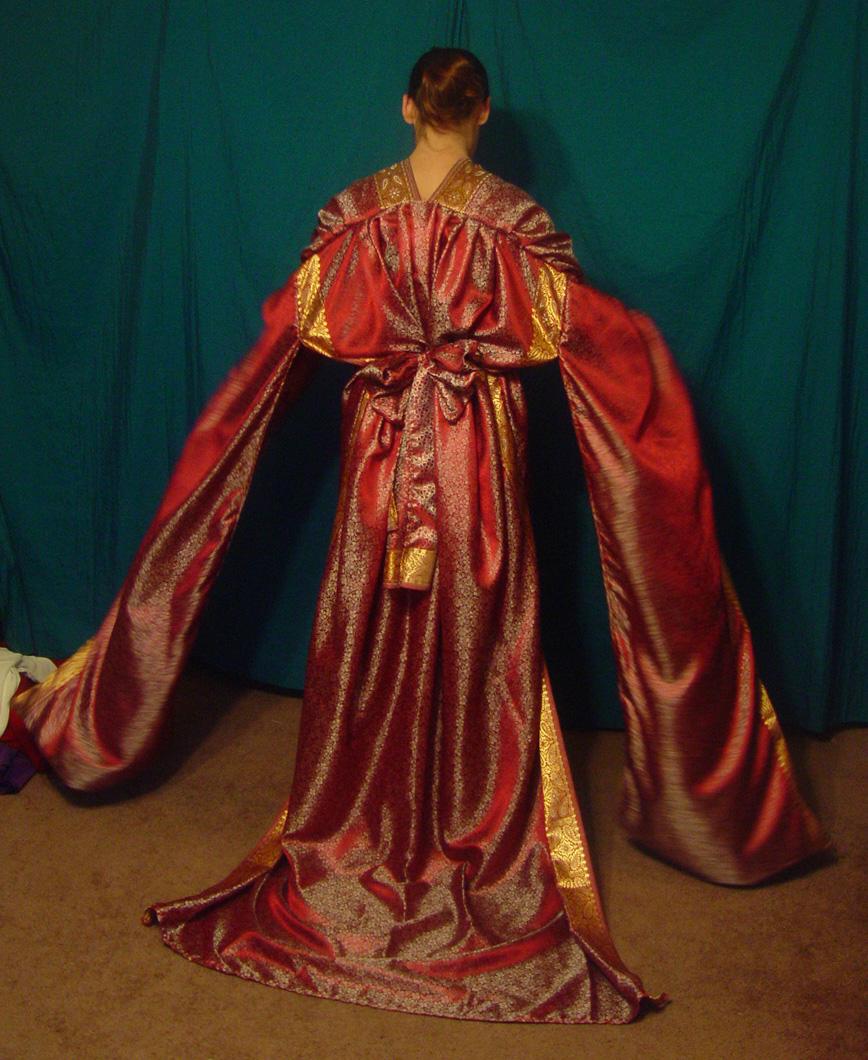 Phoenix Kimono 2 by HiddenYume-stock