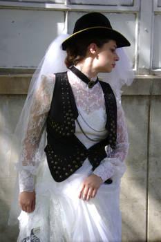 Steampunk Bride Portait 1