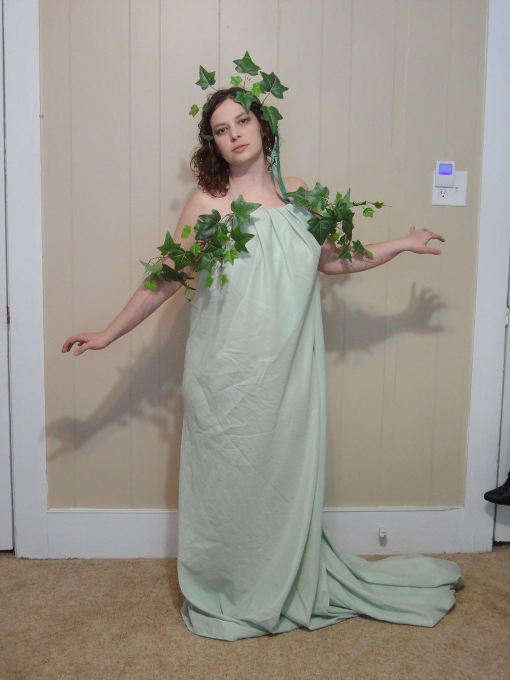 Mucha Inspired - Ivy Standing 4 by HiddenYume-stock