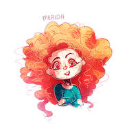 Merida by Celeiaaa