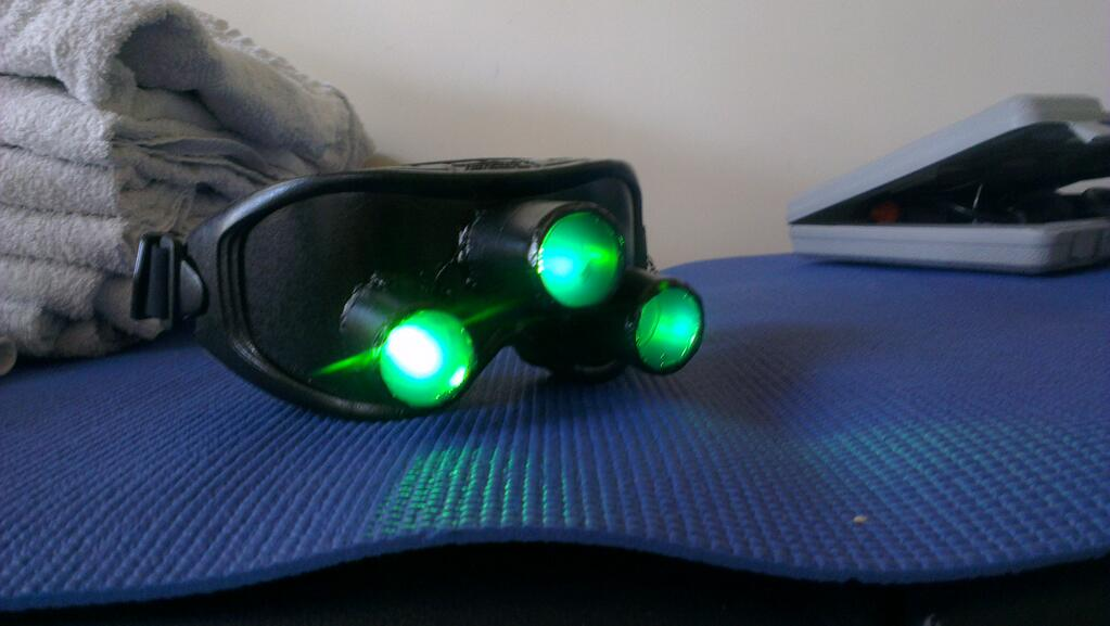 Multi-Vision Goggles (Splinter Cell) Cosplay Prop by ...