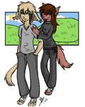 Keith and Natani : TwoKinds