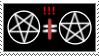 pentagrams stamp by keine-lust-modo