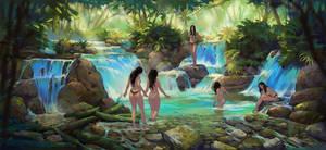 Amazon Bathers