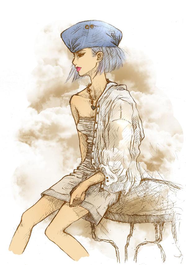 OP: Young Marine Tashigi by Rocktuete