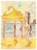 OP: Princess on her beach by Rocktuete