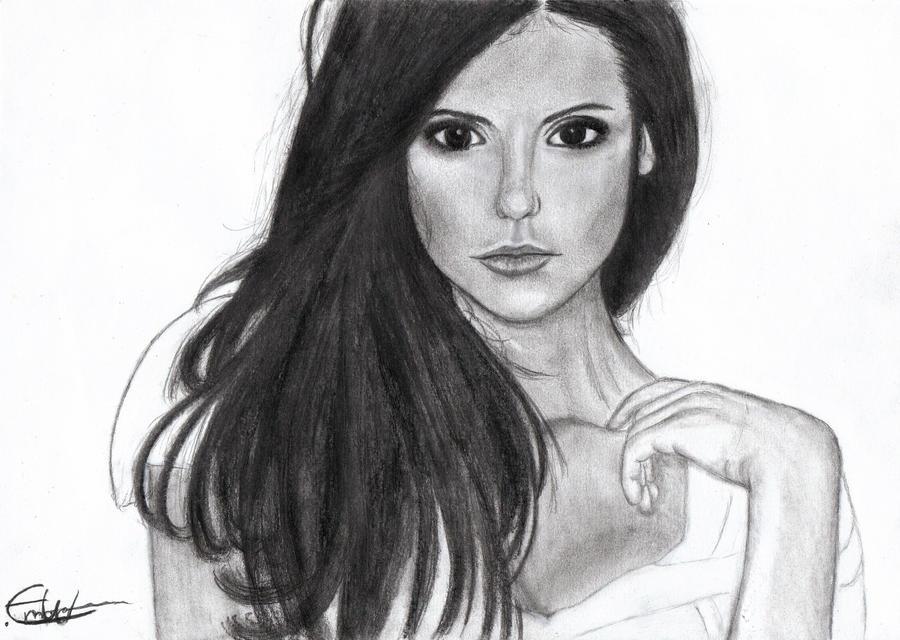 Elena vampire diaries by anotherday2 on deviantart - Dessin vampire diaries ...