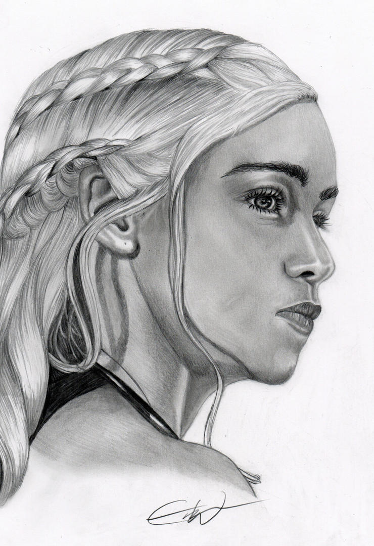 Daenerys Targaryen by anotherday2