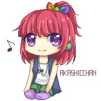 nanami pixel by Akashicchan