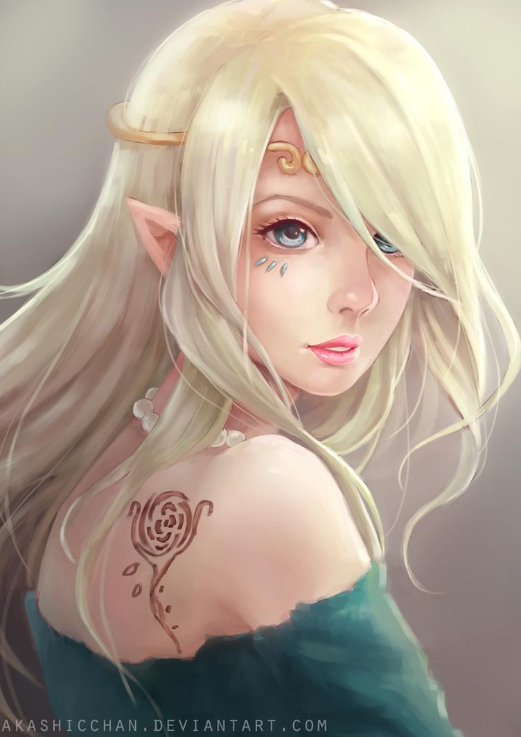 Elf by Akashicchan