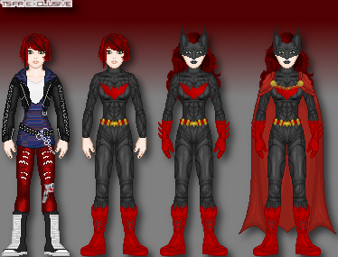 Renverse: Batwoman by TerenceTheTerrible