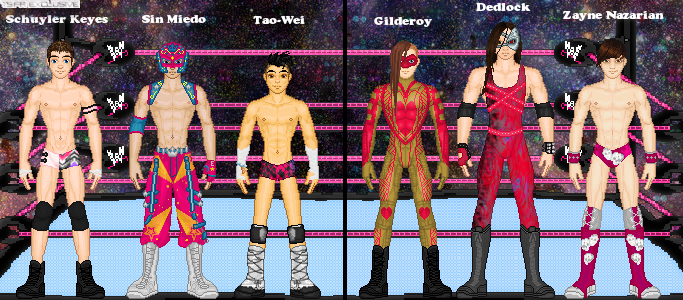 MyWWE: Team Hi-Fi vs. Team Gloom by TerenceTheTerrible