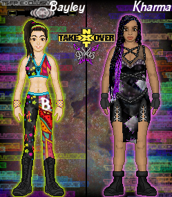 MyNXT TAKEOVER: Bayley Vs. Kharma by TerenceTheTerrible