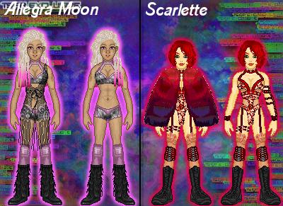 MyWWE: Allegra Moon vs. Mizz Scarlette by TerenceTheTerrible