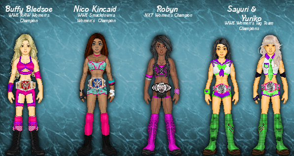 MyWWE: Women's Champions by TerenceTheTerrible