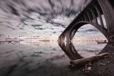While Away the Hours - Infrared Bridge