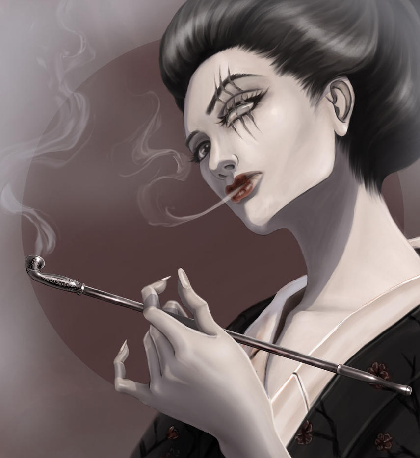 Madame-geisha by Saritima