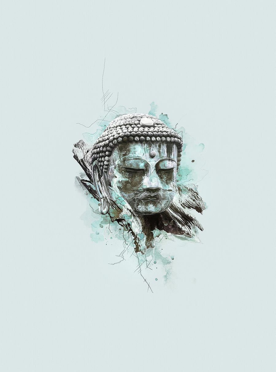 Buddha by Kevin-Roodhorst