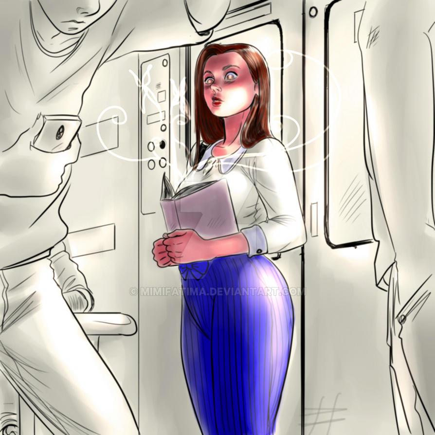 Chica En Tren by MimiFatima