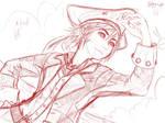 Sora Sketch by MimiFatima