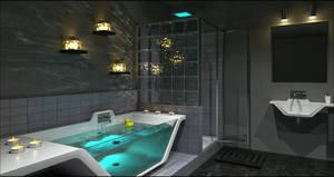 Contemporary Bathroom Caustics