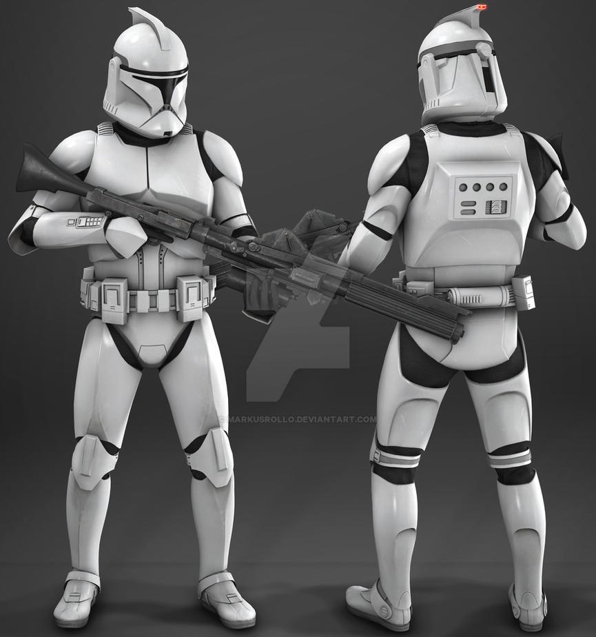 star wars battlefront ii phase 1 clone trooper by markusrollo on