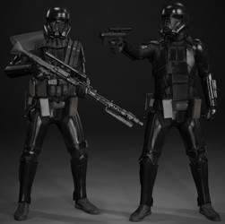 Star Wars Battlefront II: Death Troopers by MarkusRollo