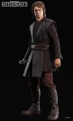 EA's SWBFII: Anakin Skywalker by MarkusRollo